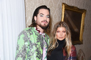 Adam Lambert and Fergie attend the Libertine Fall 2019 Runway Show at Ebell of Los Angeles on April 26, 2019 in Los Angeles, California.