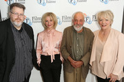 Justin Johnson; Alison Steadman, Jane Horrocks and Mike Leigh attend the 'Life Is Sweet' Blu-ray/ DVD launch and Q&A at BFI Southbank on September 28, 2017 in London, England.