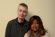 Filmmaker Steve James (L) and Chaz Ebert pose for a portrait during the 2014 Sundance Film Festival at the Getty Images Portrait Studio at the Village At The Lift on January 19, 2014 in Park City, Utah.