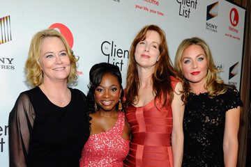 """Kathleen York Lifetime And Sony Pictures Television Red Carpet Launch Party For """"The Client List"""""""