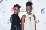 "(L-R) Actresses Condola Rashad and Adepero Oduye attend Lifetime's ""Steel Magnolias"" Premiere Event on October 3, 2012 in New York City."