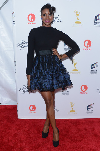 Actress Condola Rashad attends Lifetime's Steel Magnolias Premiere Event on October 3, 2012 in New York City.