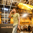 Lil Durk Samsung At The 2015 ESSENCE Festival