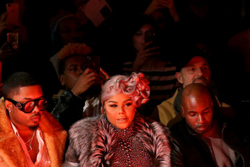 Lil Kim The Blonds - Front Row - February 2018 - New York Fashion Week: The Shows