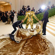 Lil Nax X The 2021 Met Gala Celebrating In America: A Lexicon Of Fashion - Arrivals