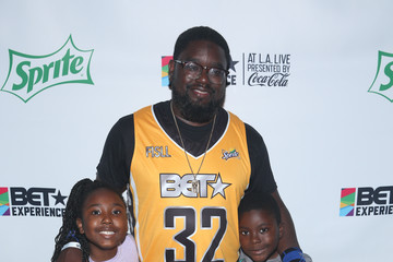 Lil Rel Howery 2017 BET Experience - Celebrity Basketball Game Presented by Sprite and State Farm - Backstage