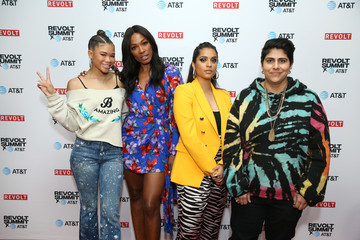 Lilly Singh REVOLT X AT&T Host REVOLT 3-Day Summit In Los Angeles - Day 2