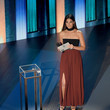 Lily Aldridge 55th Academy Of Country Music Awards - Show