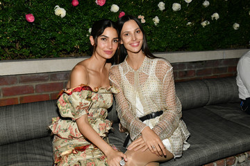 Lily Aldridge Ruby Aldridge Lily Aldridge Parfums Launch Event
