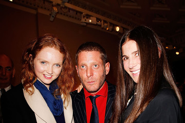 Lily Cole Reception Held at Robilant+Voena