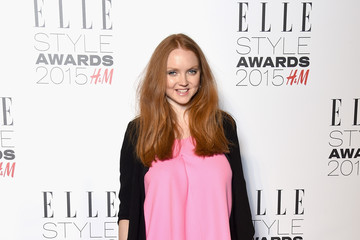 Lily Cole Elle Style Awards 2015 - Inside Arrivals