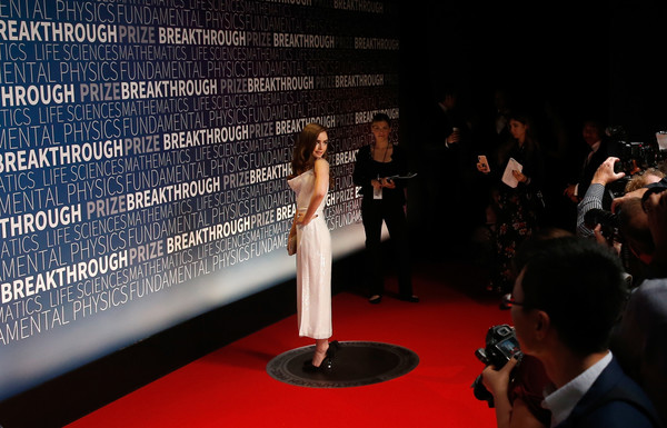 2019 Breakthrough Prize - Red Carpet
