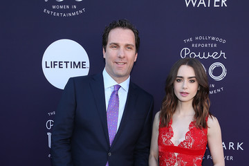 Lily Collins The Hollywood Reporter/Lifetime WIE Breakfast