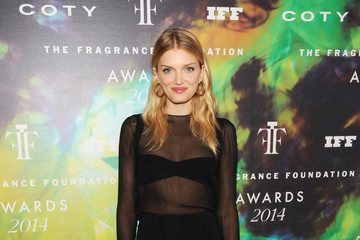 Lily Donaldson Inside the Fragrance Foundation Awards — Part 2