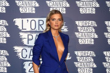 Lily Donaldson L'Oreal Paris Blue Obsession Party - The 69th Annual Cannes Film Festival