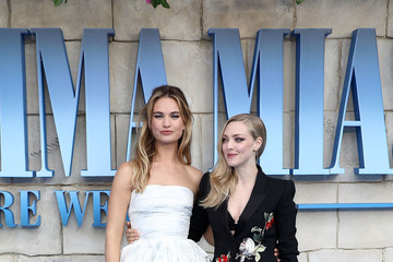 Lily James 'Mamma Mia! Here We Go Again' - UK Premiere - Red Carpet Arrivals