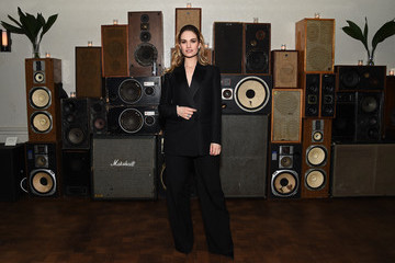 Lily James 2018 Tribeca Film Festival After-Party For 'Little Woods' At Ace Hotel