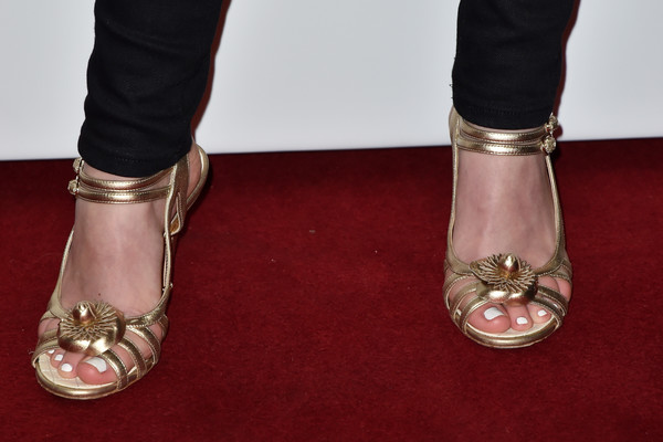 Planetarium Paris Premiere At Cinema Le Grand Rex [footwear,shoe,high heels,leg,carpet,flooring,ankle,foot,red carpet,dress,lily-rose depp,shoes detail,planetarium,paris,france,le grand rex,paris premiere at cinema le grand rex,planetarium paris premiere]