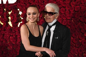 Lily-Rose Depp 2017 WWD Honors