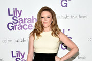Actress Natasha Lyonne attends LilySarahGrace Presents Color Outside The Lines on October 25, 2014 in New York City.