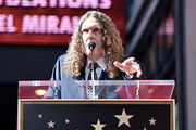 """""""Weird Al"""" Yankovic attends the ceremony honoring Lin-Manuel Miranda with a Star on the Hollywood Walk of Fame on November 30, 2018 in Hollywood, California."""