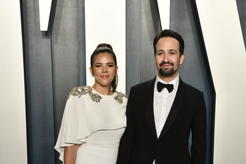 Lin-manuel Miranda Vanessa Nadal 2020 Vanity Fair Oscar Party Hosted By Radhika Jones - Arrivals