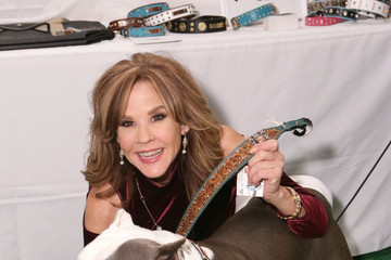 Linda Blair Backstage Creations Treat Suite at FOX's All-Star Dog Rescue Celebration