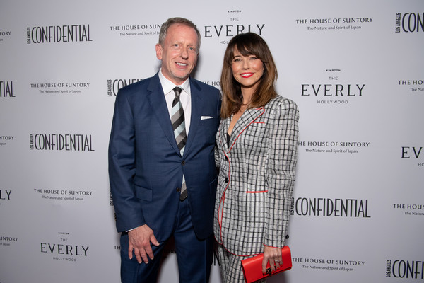 Los Angeles Confidential Magazine Celebrates The Emmys With Linda Cardellini [red,yellow,fashion,event,suit,design,premiere,white-collar worker,carpet,business,linda cardellini,spencer beck,emmys,los angeles,california,kimpton everly hotel,los angeles confidential magazine celebrates the emmys,los angeles confidential magazine]