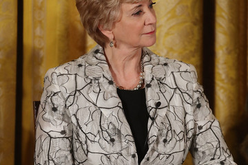 Linda McMahon Donald Trump Attends a Women's Empowerment Panel at the White House