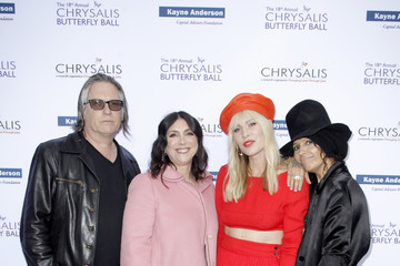 Linda Perry Kerry Brown 18th Annual Chrysalis Butterfly Ball