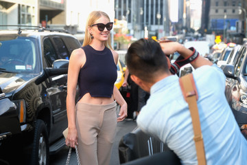 Lindsay Ellingson Seen Around - September 2016 - New York Fashion Week: The Shows - Day 3