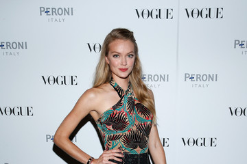 Lindsay Ellingson The Visionary World of Vogue Italia Exhibition