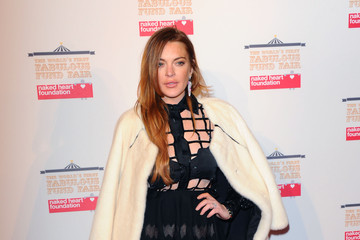 Lindsay Lohan The World's First Fabulous Fund Fair In Aid Of The Naked Heart Foundation - Red Carpet Arrivals