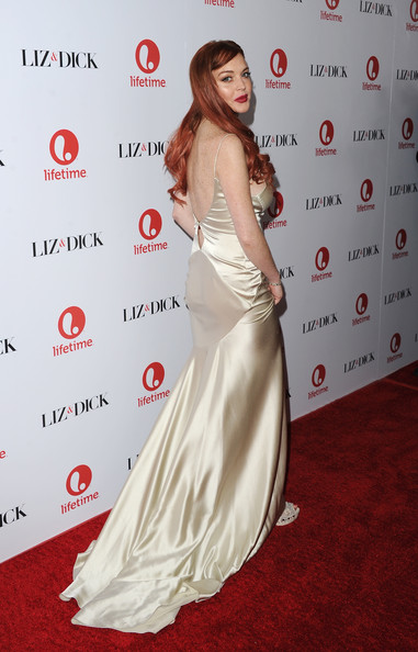 "Lindsay Lohan - Premiere Of Lifetime's ""Liz & Dick"" - Arrivals"