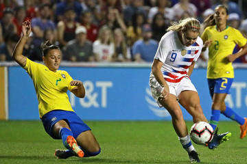Lindsey Horan 2018 Tournament Of Nations: Brazil vs. United States