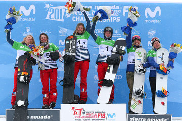 Lindsey Jacobellis FIS World Snowboard Championships - Men's and Women's Snowboardcross Team Event