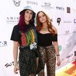 Lindsey Marie Shaw Cassie Scerbo Hosts 80's-Themed Birthday Fundraiser Benefiting Boo2Bullying