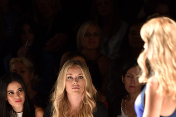 Lindsey Vonn Project Runway - Front Row - Mercedes-Benz Fashion Week Spring 2015
