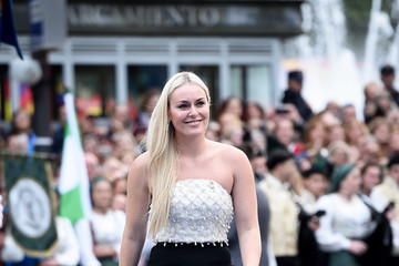 Lindsey Vonn Arrivals - Princess of Asturias Awards 2019