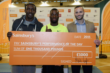 Linford Christie Sainsbury's British Athletics Indoor Championships - Day Two