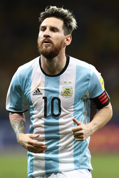 Lionel Messi Photos - 4665 of 13396. Brazil v Argentina - 2018 FIFA World Cup Russia Qualifier