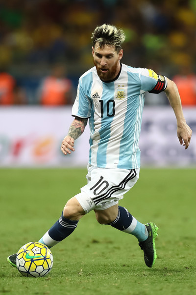 Lionel Messi Photos - Brazil v Argentina - 2018 FIFA World ...