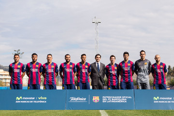 Lionel Messi Barcelona Announce Partnership Agreement