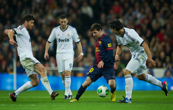 Lionel Messi - Real Madrid CF v FC Barcelona - Copa del Rey - Semi Final First Leg