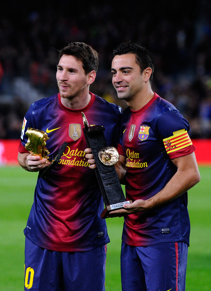 Xavi and messi