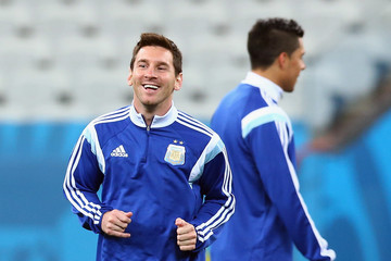 Lionel Messi Argentina Training Session