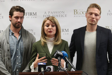 Lisa Bloom Lisa Bloom Holds Press Conference With Bruce Weber Accusers