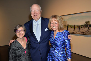 Lisa Dennison George Wachter LACMA's 2014 Collectors Committee - Gala Dinner