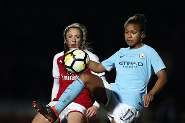 Lisa Evans Arsenal Women Vs. Manchester City Ladies: WSL Continental Cup Final