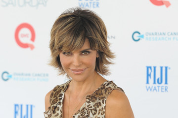 Lisa Rinna FIJI Water At Super Saturday Co-Hosted By Kelly Ripa And Donna Karan